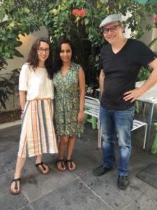 Chloé Becqueriaux, Deepika Arwind, Alan Mets